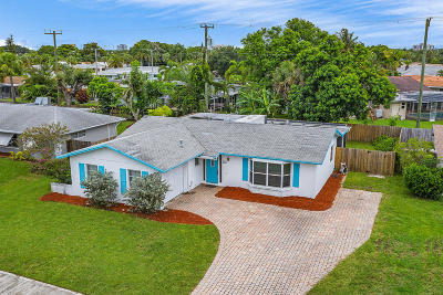 Palm Beach Gardens Single Family Home For Sale: 3667 Holly Drive