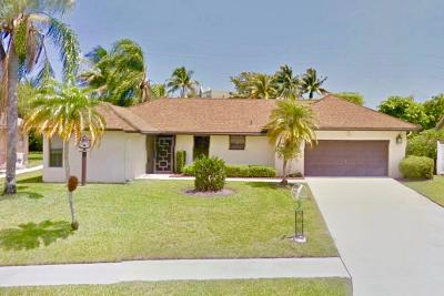 Delray Beach Single Family Home Contingent: 6068 Winding Brooke Way
