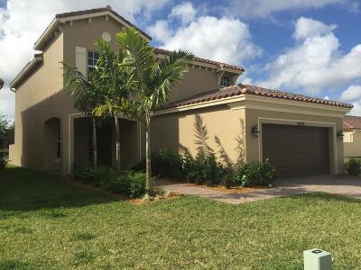 Lake Worth Single Family Home For Sale: 4694 Capital Drive