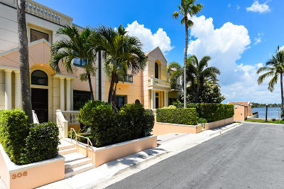 Palm Beach Townhouse For Sale: 308 Atlantic Avenue #2