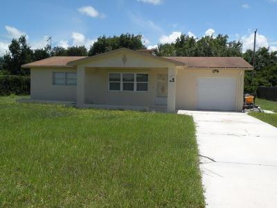 Stuart Single Family Home For Sale: 308 SE Tressler Drive