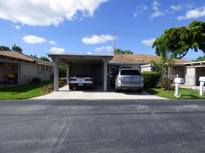 Delray Beach Single Family Home For Sale: 6742 Moonlit Drive