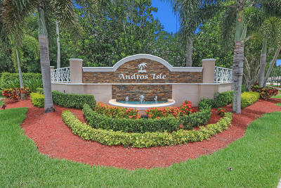 West Palm Beach Single Family Home For Sale: 8406 Nicholls Point
