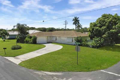 Boynton Beach Single Family Home For Sale: 1290 SW 27th Place