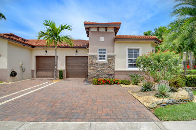 Delray Beach Single Family Home For Sale: 14675 Barletta Way
