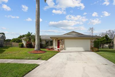Boynton Beach Single Family Home Contingent: 5311 Raymond Drive