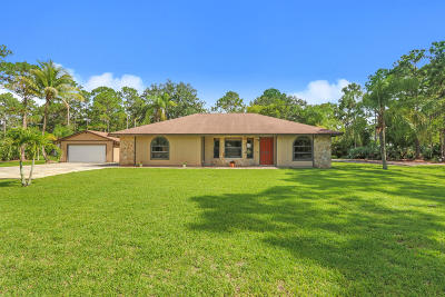 Jupiter Single Family Home For Sale: 13804 153rd Road
