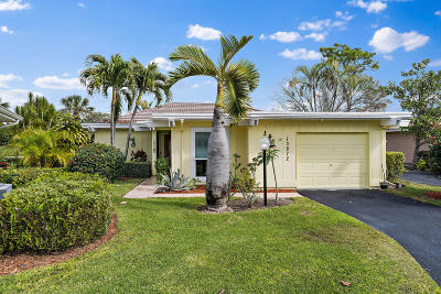 Palm Beach Gardens Single Family Home Contingent