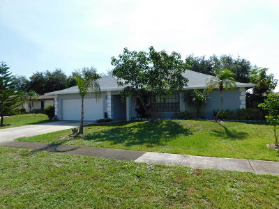 West Palm Beach Single Family Home For Sale: 838 Ryanwood Drive