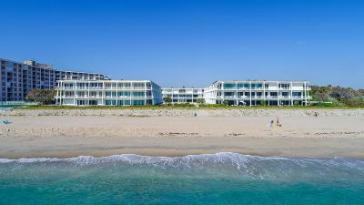Palm Beach Condo For Sale: 2275 S Ocean Boulevard #106s