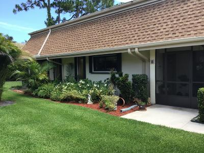 Jupiter Townhouse For Sale: 106 Half Moon Circle #B