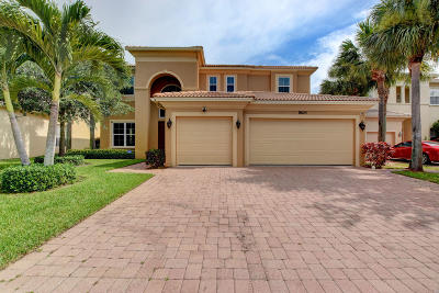 West Palm Beach Single Family Home For Sale: 8625 Palisades Lakes Drive