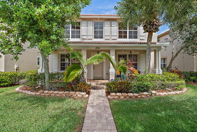 Palm Beach Gardens Single Family Home Contingent: 8161 Bautista Way