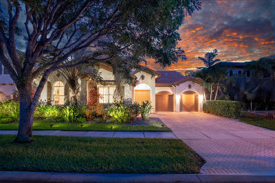 Boynton Beach Single Family Home Contingent: 4187 Artesa Drive
