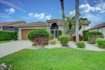 Boynton Beach Single Family Home Contingent: 6558 Sherbrook Drive