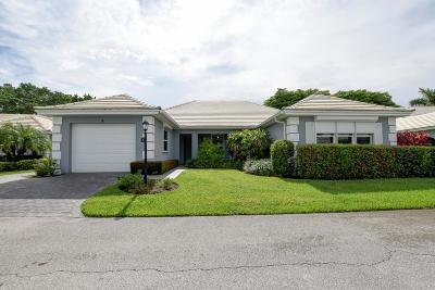 Boynton Beach Single Family Home For Sale: 9 Bahia Drive