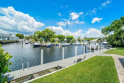 Palm Beach Gardens Single Family Home For Sale: 14275 Paradise Point Road