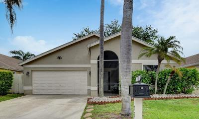 Wellington Single Family Home Contingent: 1251 Waterway Cove Drive