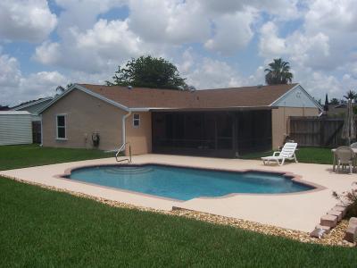 Boynton Beach Single Family Home For Sale: 5034 Mark Drive
