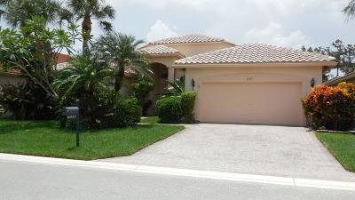 Boynton Beach Single Family Home For Sale: 6547 Piemonte Drive