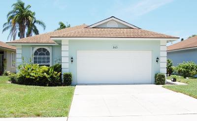 Jupiter Single Family Home Pending: 143 Sims Creek Lane