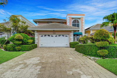 Boca Raton Single Family Home For Sale: 7800 Travelers Tree Drive