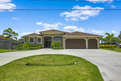 St Lucie County Single Family Home For Sale: 5360 NW Arrowhead Terrace