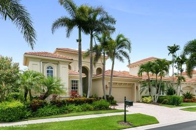 West Palm Beach Single Family Home For Sale: 7101 Tradition Cove Lane E