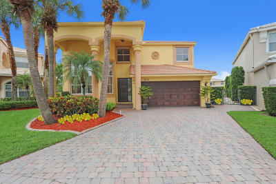 Lake Worth Single Family Home For Sale: 7551 Great Oak Drive