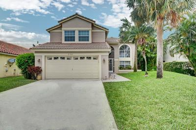 Boynton Beach Single Family Home Contingent: 6188 Windlass Circle