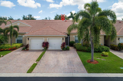 West Palm Beach Single Family Home For Sale: 9419 Bridgeport Drive