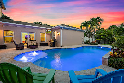 Jupiter Single Family Home For Sale: 1760 W Community Drive