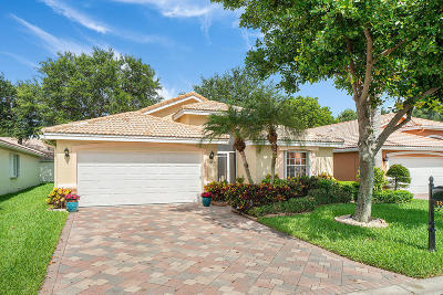 Boynton Beach Single Family Home For Sale: 12056 Aprilia Drive