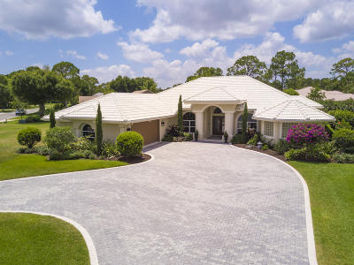 Port Saint Lucie Single Family Home For Sale: 7951 Plantation Lakes Drive