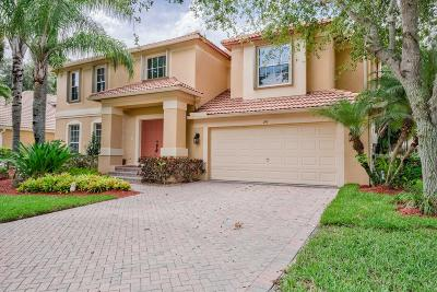 Palm Beach Gardens Single Family Home For Sale: 195 Lone Pine Drive