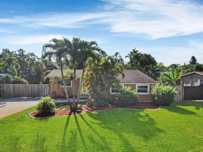 West Palm Beach Single Family Home For Sale: 802 Belmont Drive