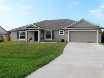 Saint Lucie West Single Family Home For Sale: 1618 SW Falmouth Avenue