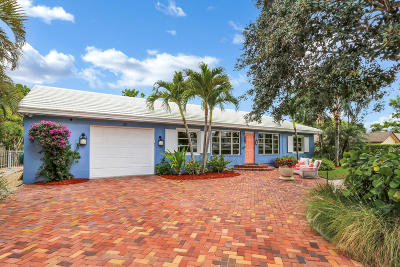 Delray Beach Single Family Home For Sale: 25 NE 10th Street
