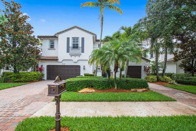 Palm Beach Gardens Single Family Home Contingent: 1312 Sonoma Court