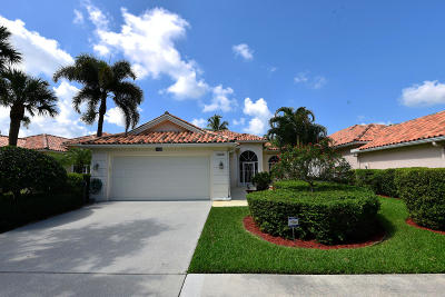 West Palm Beach Single Family Home For Sale: 7098 Fish Creek Lane