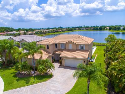 West Palm Beach Single Family Home For Sale: 1370 Pebble Ridge Lane