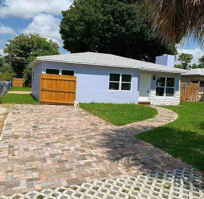 Fort Lauderdale Single Family Home For Sale: 1321 NW 7th Avenue