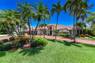 Boca Raton Single Family Home For Sale: 5955 Buena Vista Court