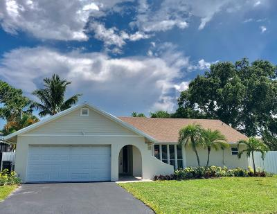 Delray Beach Single Family Home For Sale: 3836 NW 9th Street