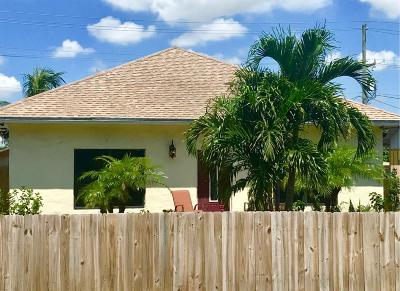 Lake Worth Single Family Home For Sale: 1107 S Pine Street