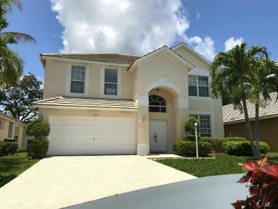 West Palm Beach Single Family Home For Sale: 4375 Leicester Court