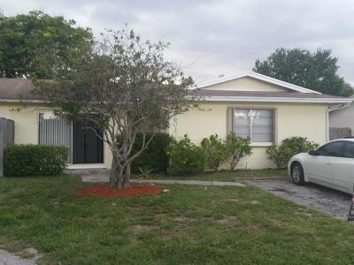 West Palm Beach Single Family Home For Sale: 8601 Pluto Terrace