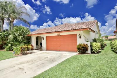 Lake Worth Single Family Home For Sale: 8585 Bonita Isle Drive