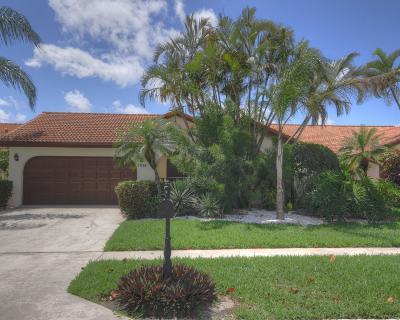 Boca Raton Single Family Home For Sale: 7834 Villa Nova Drive