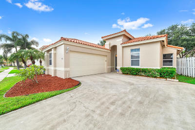 Lake Worth Single Family Home For Sale: 7257 Nautica Way